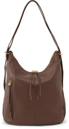 Merrin Leather Convertible Backpack
