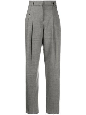 Shop Salvatore Ferragamo wide-leg pleated trousers with Express Delivery - Farfetch