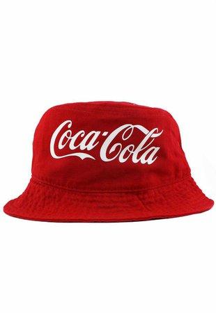 Vintage Coca-Cola Bucket Hat