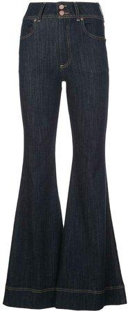 Alice+Olivia bell bottom jeans