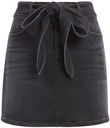 Good Wrap Waist Mini Skirt
