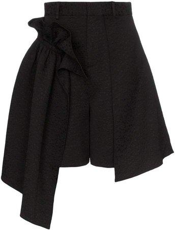 Shushu/Tong Ruffled high-waisted shorts