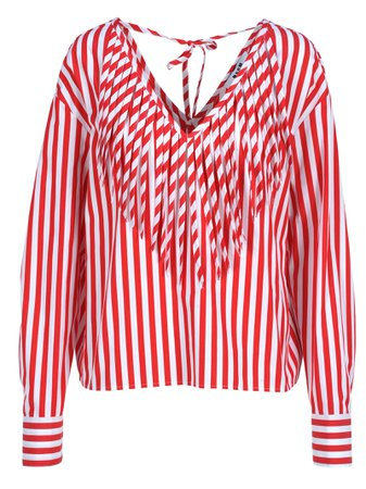 Msgm Msgm Striped Blouse