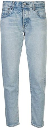 Vintage Camilla mid-rise tapered jeans