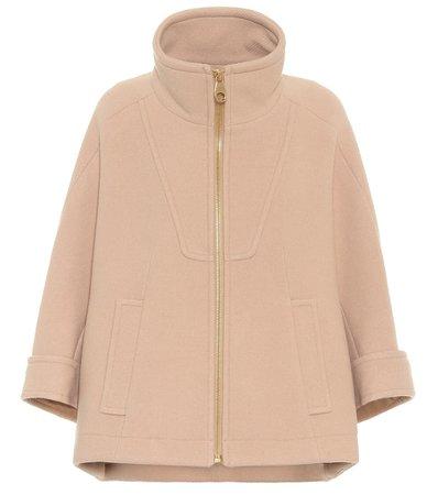 Chloé, Wool-blend Coat jacket