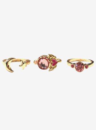 Sailor Moon Cutie Moon Rod Ring Set