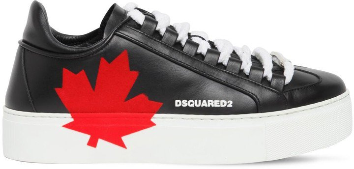 30mm Canadian Team Leather Sneakers