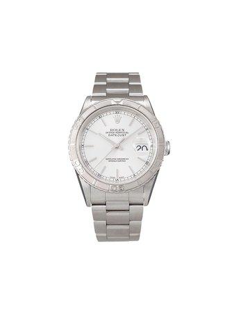 Rolex Pre-owned Datejust Turn-O-Graph 36 Mm Klocka Från 2000 - Farfetch