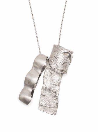 Ann Demeulemeester large pendant necklace - FARFETCH
