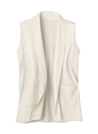 Long Sweater Vest | CarolWrightGifts.com