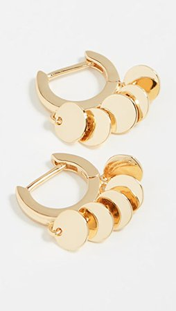 Jules Smith Disc Huggy Earrings | SHOPBOP
