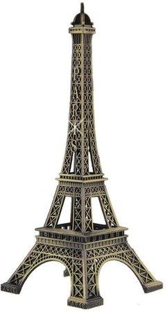 Amazon.com: Haiker 15cm Paris Eiffel Tower Craft Art Statue Model Desk Room Decoration Gift,Bronze: Home & Kitchen