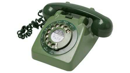 BBC - Electric Dreams 1970s - Dial Telephone: 1970