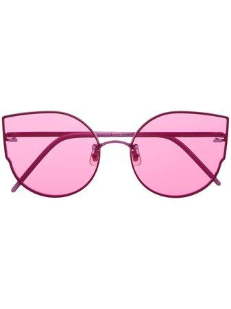 Gentle Monster Ami Adam cat-eye Frame Sunglasses - Farfetch