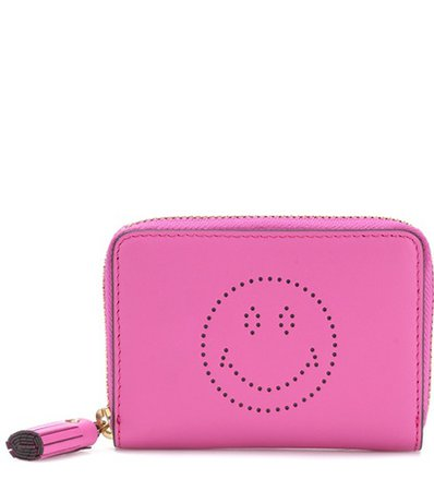 Wink Small leather wallet