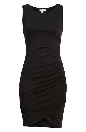 Leith Ruched Body-Con Tank Dress | Nordstrom