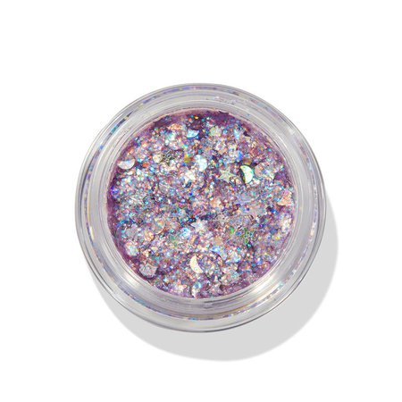Sailor Moon x ColourPop Collection.Moon Prism Power Purple Glitterally Obsessed