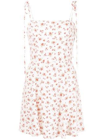 Reformation - Bisque floral-print dress