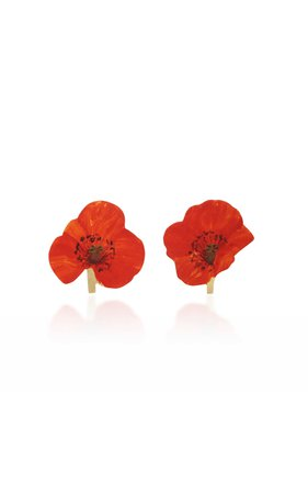 Poppy Stud Earrings by Christopher Thompson Royds | Moda Operandi