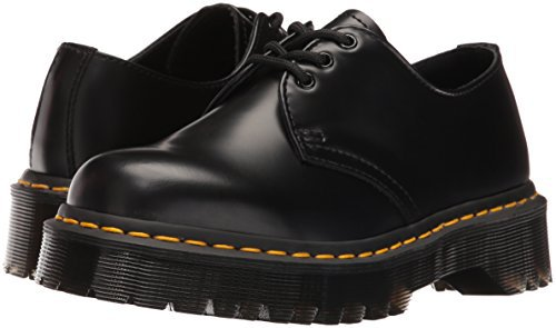 doc marten low cut platform platforms black