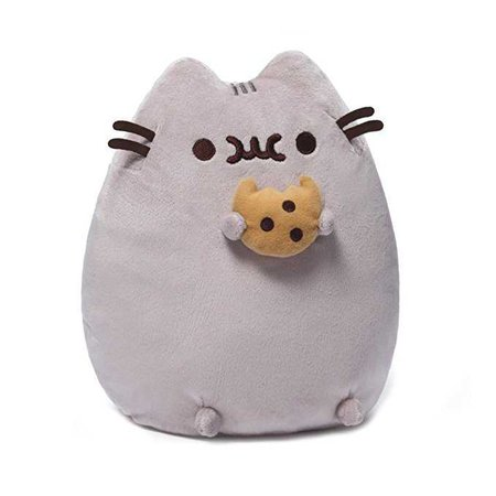"Amazon.com: GUND Pusheen Snackable Cookie Stuffed Animal Plush, 9.5"": Toy: Toys & Games"