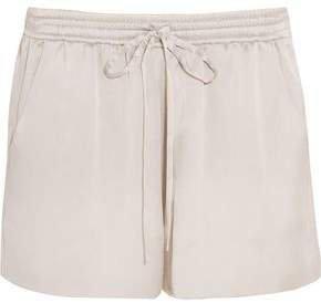 Silk-satin Shorts