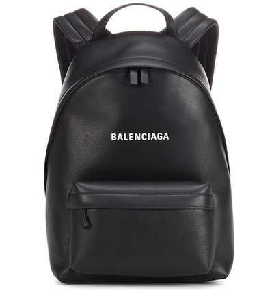 Everyday leather backpack