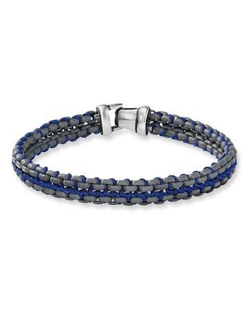 David Yurman 10mm Woven Box Chain Bracelet