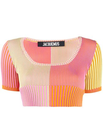 Jacquemus La Maille Yauco Knitted Top - Farfetch
