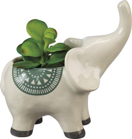 Planter - Elephant - Everyday   Primitives By Kathy