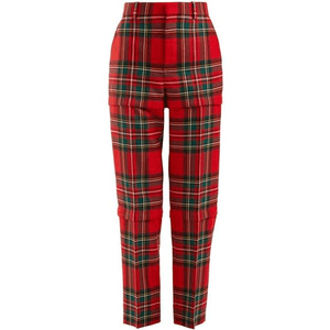 red plaid pants png