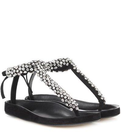 Emita embellished leather sandals