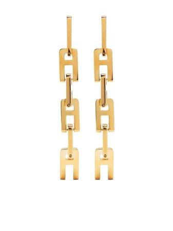 AMBUSH chain-link Drop Earrings - Farfetch