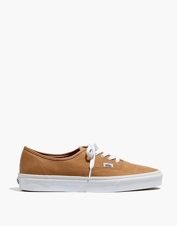 Vans® Authentic Lace-Up Sneakers in Leather