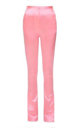 Pink Stretchy Pants By Mach & Mach   Moda Operandi