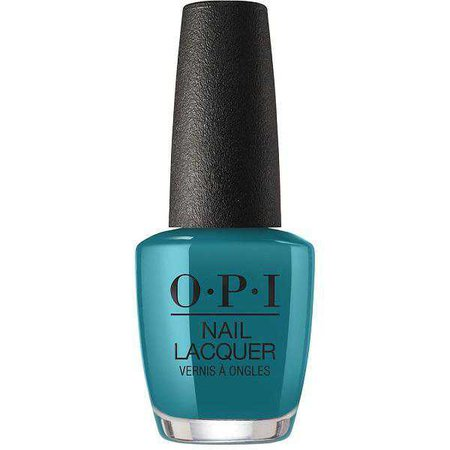 OPI Nail Lacquer - Teal Me More, Teal Me More 0.5 oz - #NLG45 – Beyond Polish