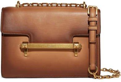 Garavani Uptown Medium Leather Shoulder Bag - Brown