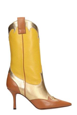 Marc Ellis Tex Gold Yellow Boots