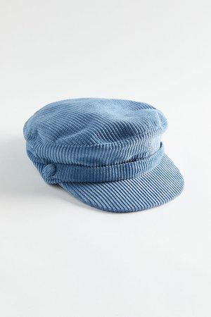 Corduroy Lieutenant Hat | Urban Outfitters