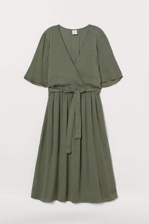 Wrap Dress - Green
