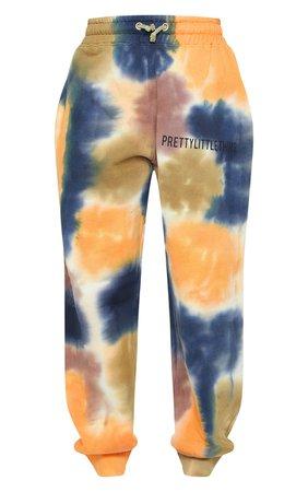Prettylittlething Multi Tie Dye Joggers | PrettyLittleThing USA