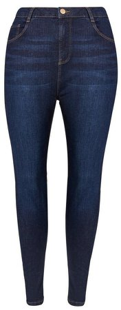 **DP Curve Indigo 'Shape & Lift' Jeans
