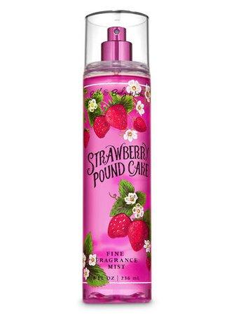 Strawberry Pound Cake Fine Fragrance Mist | Bath & Body Works