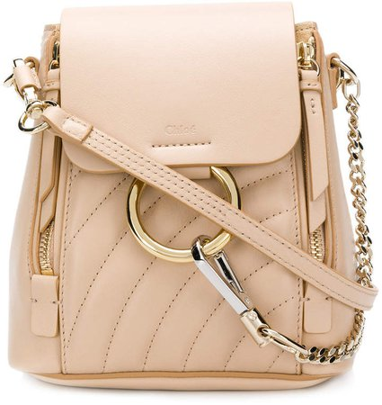 quilted Faye backpack