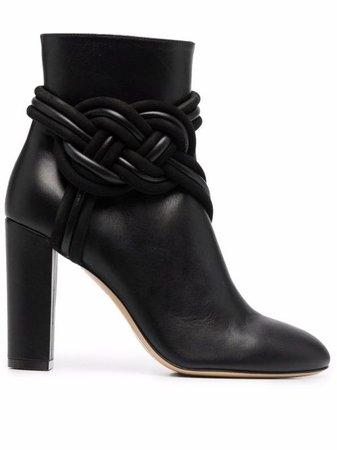 ETRO Braided high-heel Boots - Farfetch