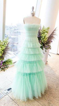 Star ball gown