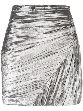 Saint Laurent Pleated Mini Skirt