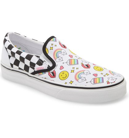 Vans x FLOUR SHOP Classic Slip-On Sneaker (Women) | Nordstrom