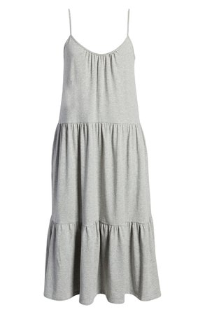 All in Favor Tiered Jersey Dress | Nordstrom