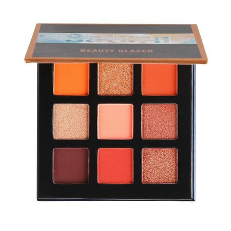 orange eyeshadow palette